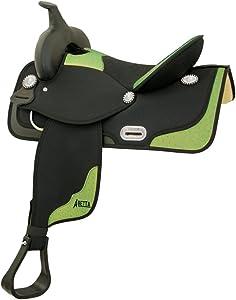 Abetta Ostrich Classic Saddle Set