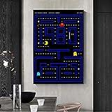 AdoDecor Klassische Kindheitserinnerung Pacman Arcade-Spiel