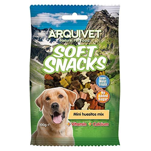 Arquivet Soft Snacks para Perro Mini huesitos Mix 100 g
