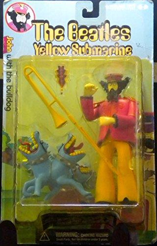 The Beatles- Yellow Submarine: John with the Bulldog Figurines McFarlane