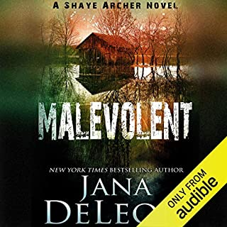 Malevolent audiobook cover art