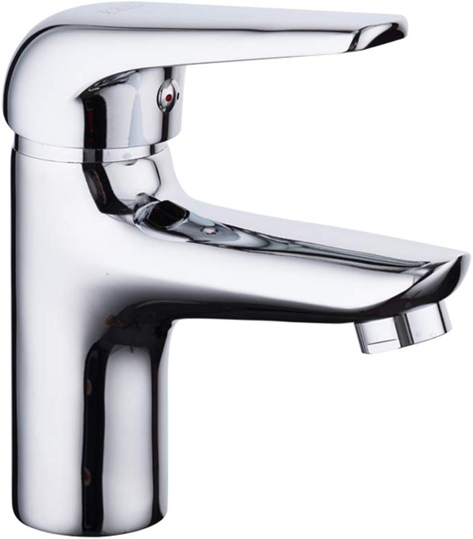 IFELGUD Classic Basin Faucet Bathroom Sink Mixer Chrome Finish Tap Water Faucet Bathroom Sink Faucet Tap Restroom Mixer