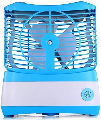 IGOSAIT Noiseless Humidifying Fan Cooling Small Inventory cleanup selling sale USB Fees free Air Desktop