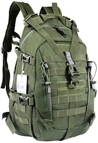 LHI Military Tactical Backpack for Men 35L Army Pack BugOut Bag Molle Rucksack with Reflector product image