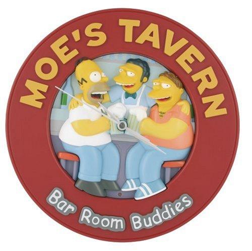 WESCO Buddies Talking-Simpsons Wanduhr