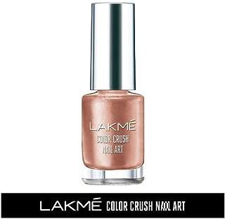 Lakme Color Crush Nailart, M2 Cocoa Nude, 6 ml