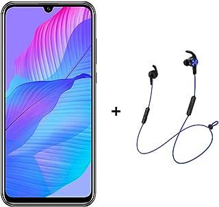 "Huawei Y8P Smartphone,Dual SIM,128 GB ROM,6GB RAM,48MP,4000mAh,6.3"" Display  - Midnight Black + AM61 BT Headphones"