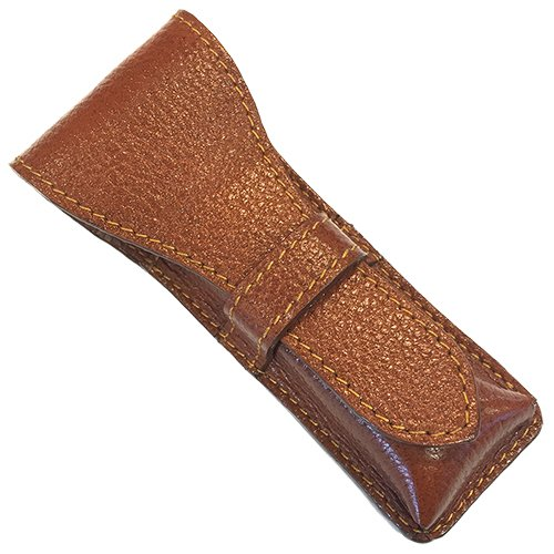 Parker Safety Razor, Genuine Leather Double Edge Safety Razor...