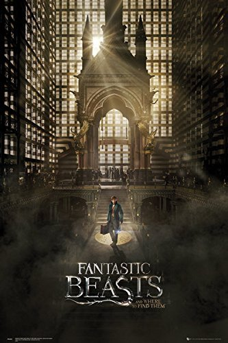 Xzmafthfrw Fantastic Beasts and Where to Find Them - Movie Poster/Print (Regular Style A) (Size, 24 inches x 36 inches), 24