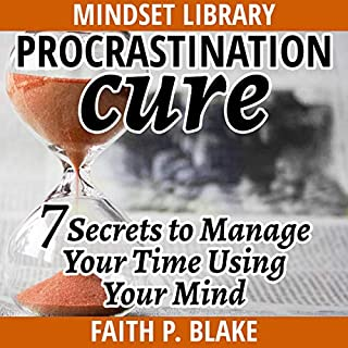 Procrastination Cure audiobook cover art