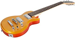 Monoprice Monoprice Indio Mini 66 Electric Guitar - Goldtop with Gig Bag, (610127)
