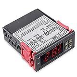 Termostato termoregulador con calefactor y refrigerador (12 V, 24 V, 220 V) para elegir el controlador de temperatura digital LED STC-1000