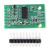 Questo modulo adotta chip convertitore A / D ad alta precisione a 24 bit ed è appositamente progettato per scale elettroniche. Sensore di pesatura HX711 Sensore di pressione preciso a 24 bit a doppio canale, misurazione precisa della pressione. Produ...