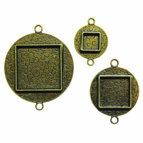 Spellbinders Media Mixage aangepaste cirkels twee, brons - MB2-002
