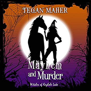 Mayhem and Murder     Witches of Keyhole Lake, Book 4              By:                                                                                                                                 Tegan Maher                               Narrated by:                                                                                                                                 Krystle Minkoff                      Length: 5 hrs and 40 mins     Not rated yet     Overall 0.0
