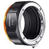 Adaptador de Lentes, Adaptador de Objetivo M17105 PK-NEX para Lentes de Montura Pentax PK K en cámaras Sony NEX Alpha con Montura E
