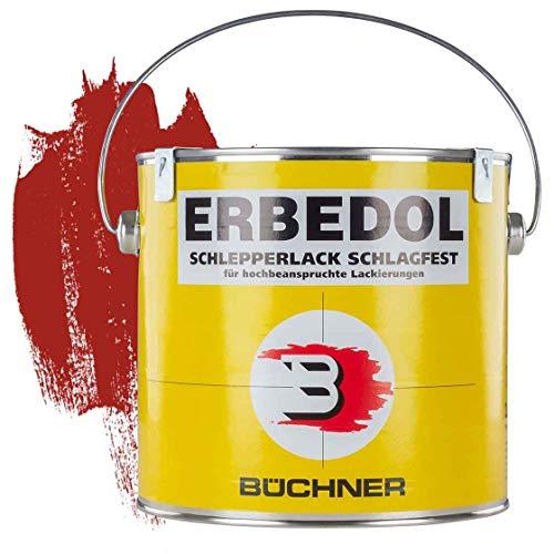Schlepperlack | KARMINROT | HORSCH-ROT | RAL 3002 | 2,5 l | restaurieren | Traktor | lackieren | Farbe | Trecker | Frontlader | Lack | Lackierung | Farbton | schnelltrocknend