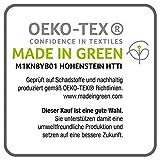 Bierbaum Bettwäsche 4757, Mako-Satin, Made in Germany, limone 18, 135x200 + 80x80 cm - 5