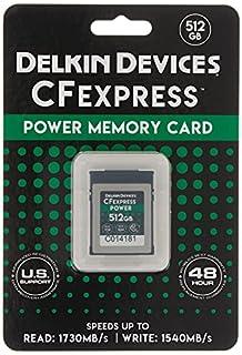 Delkin Devices 512GB Power CFexpress Type B Memory Card (DCFX1-512) (B088J48XH7) | Amazon price tracker / tracking, Amazon price history charts, Amazon price watches, Amazon price drop alerts
