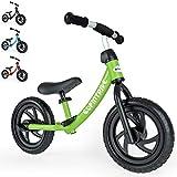besrey Bici sin Pedales para niño Bicicleta sin Pedales de 2-5 años - Verde