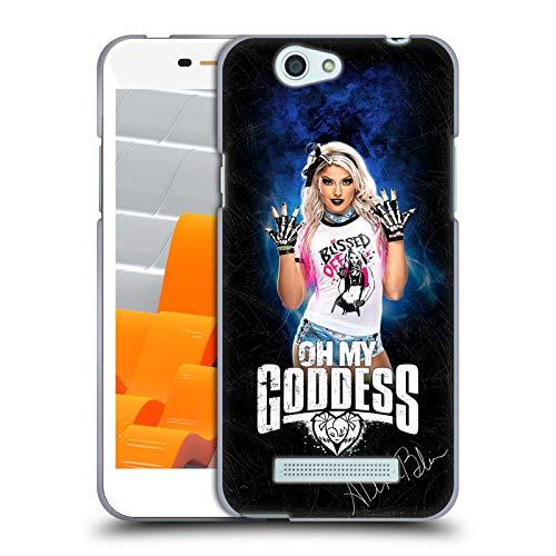 Head Case Designs Oficial WWE Goddess LED Image Alexa Bliss Carcasa de Gel de Silicona Compatible con Wileyfox Spark/Plus