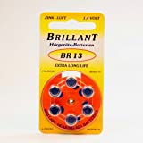 60 x Brillant BR 13 (Typ13, ZL13, PR48) orange...
