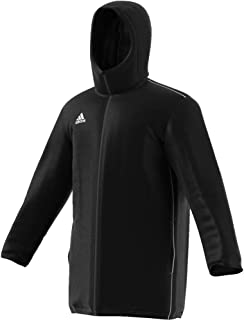 adidas Core 18 Stadium Jacket - Adult - Black/White - XL