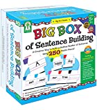 Key Education Big Box of Sentence Building Games for Kids—Sight Word Puzzles for Reading and Writing, Literacy Center Resource for Kindergarten-2nd Grade, Multi, 840008