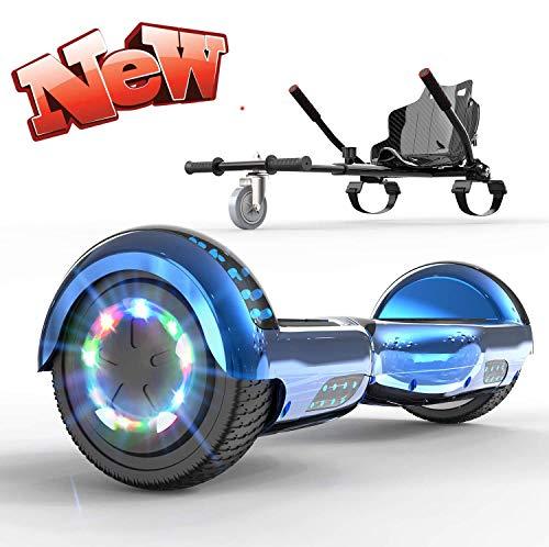 6,5 Zoll von nicht-Griff-Balancing Rollern Hover Kart und Kombinationen Hover-Lampe LED-Scooters -...