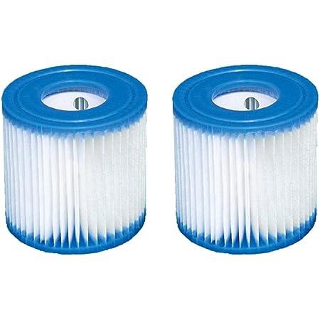 Intex 2 Cartouches de filtre type H (29007) pour pompes à filtre 28601, 28602