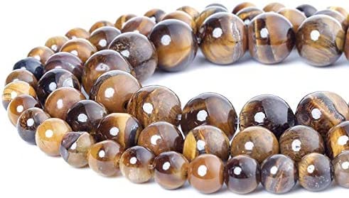 4 6 8 10mm Fashion Natural Yellow Max 58% OFF Eye for Tiger Beads DIY Popular brand in the world Stone