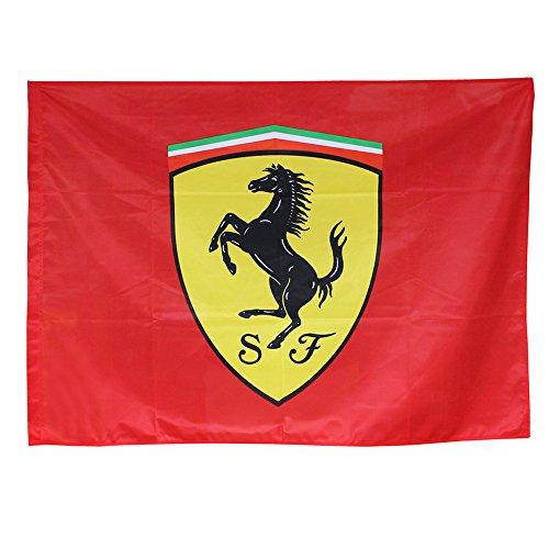 FERRARI Flagge Fahne Scuderia Flagge Fahne 120x90cm