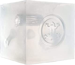 Phokus Research Wound Cube, Semi-Transparent Silicone, Non-Toxic, Durable Wound Packing Trainer Ideal for Use in Public Ed...