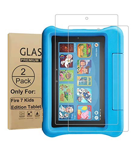Seama Panzerglas Schutzfolie für 7 Zoll Tablet [2 Stück], 9H Festigkeit, 2.5D, Glas Panzerfolie Bildschirmschutzfolie