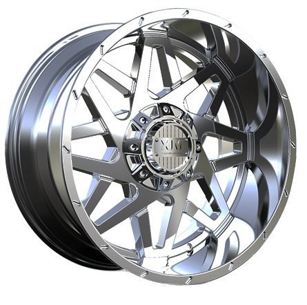 XTREME MUDDER XM-313 8024 20X12-44 6X135+6X139.7 C.B 87.10 CHROME MILLED DOT