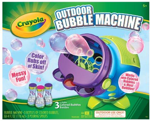 Crayola Colored Bubbles Machine