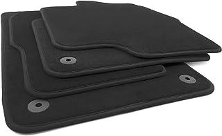 kh Teile Fußmatten passend für Sharan 2 7N Automatten 4 teilig Velours schwarz