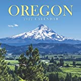 Oregon Calendar 2022: Gifts for Friends and Family with 12-month Monthly Calendar in 8.5x8.5 inch