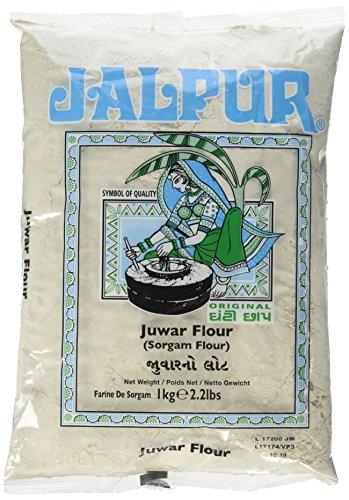 Jalpur - Harina gruesa de sorgo - Juwar - molida a la piedra - 1 kg