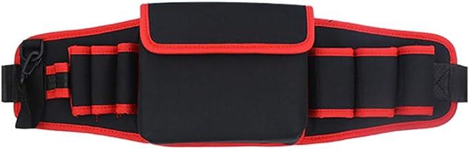 Jianghuayunchuanri Taille Tool Bag 7 Zakken 1Pouch Oxford Doek Tool Bag Verdikte Multifunctionele Tool Opbergtas voor Elek...