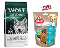 Complete food for adult dogs Economy Pack 2 x 12kg with fresh lamb, chicken, trout and elderberries With a total of 40% fresh meat typical to the wild wolf's regional prey Elderberries typical of that region With healthy beans and pulses 100 % grain ...