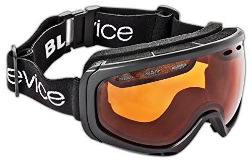 Black Crevice Skibril voor volwassenen