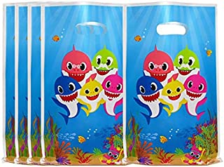 40 Pcs Cute Shark Party Favor Bags for Baby Shower, Shark Themed Party, Birthday Gifts