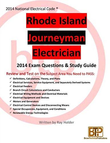 Rhode Island 2014 Journeyman Electrician Study Guide