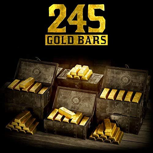 Red Dead Redemption 2 245 Gold Bars - PS4 [Digital Code]