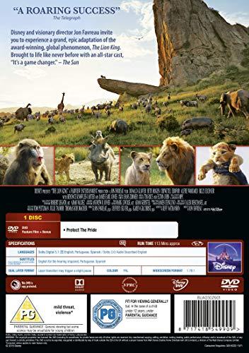 Disney's The Lion King [DVD] [2019]