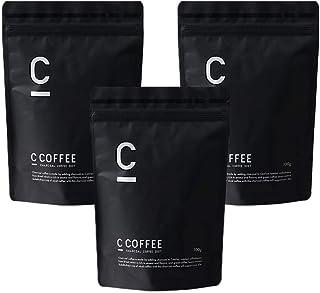 チャコールコーヒー C COFFEE シーコーヒー 3袋セット【 チャコール mctオイル パウダー オーガニック 炭 サプリ の代わりに サポート 置き換え 】 (ブラジル産 コーヒー豆 100%)