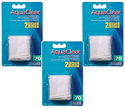 (3 Pack) AquaClear 70 Nylon Bags, 2 Bags each