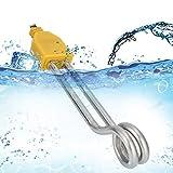 Caldera de calentamiento de agua de calentamiento rápido, calentador de inmersión de 600 W, portátil para calentar el hogar, bañera, estanque,(European standard 220-