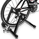QMZDXH Indoor Bike Trainer Soporte de Bicicletas de Montaña Montar Bicicleta Plataforma de Rodillos de Formación de Rodillos de Bicicletas